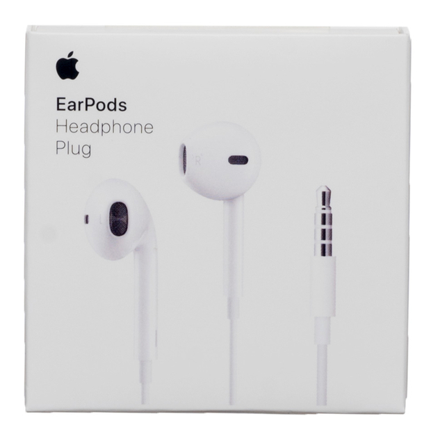 Apple earPods with 3.5 mm  Plug  $7,82 USD