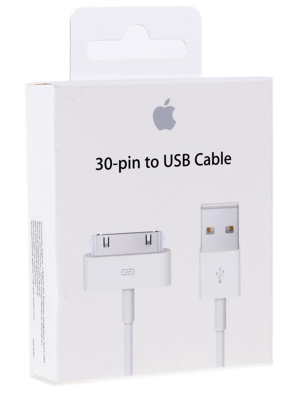Apple cable de 30 pin a USB de Apple $ 5,11 USD