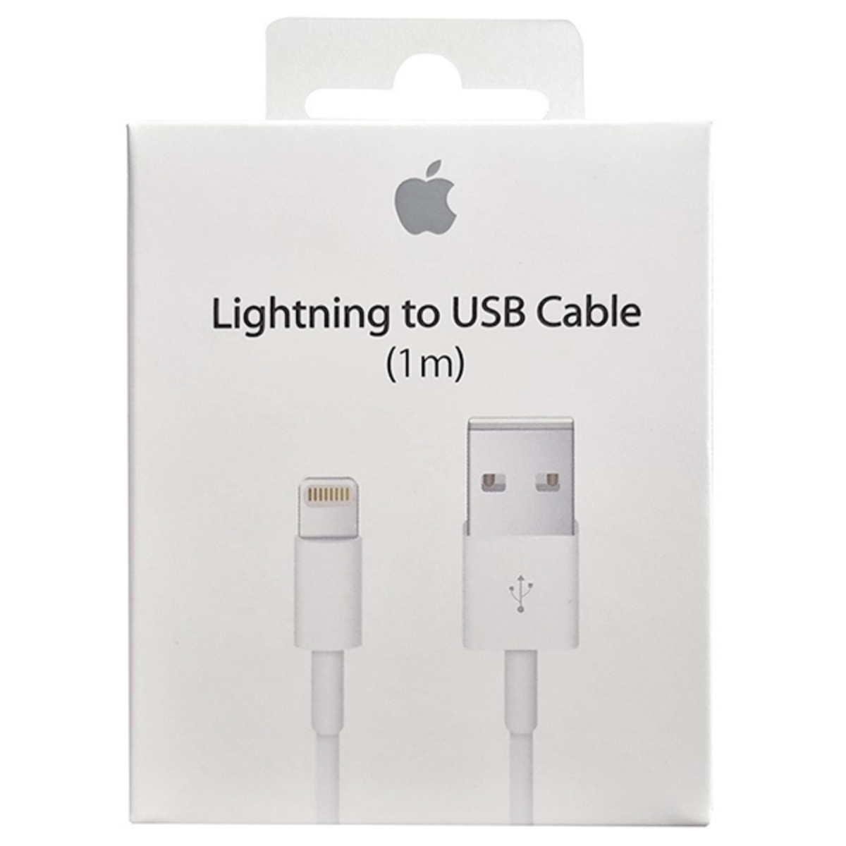Apple cable  Lightning a USB (1 m) $ 6,97USD