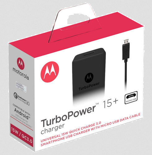 Cargador Pared Motorola TurboPower™ 15 $ 6,65 USD