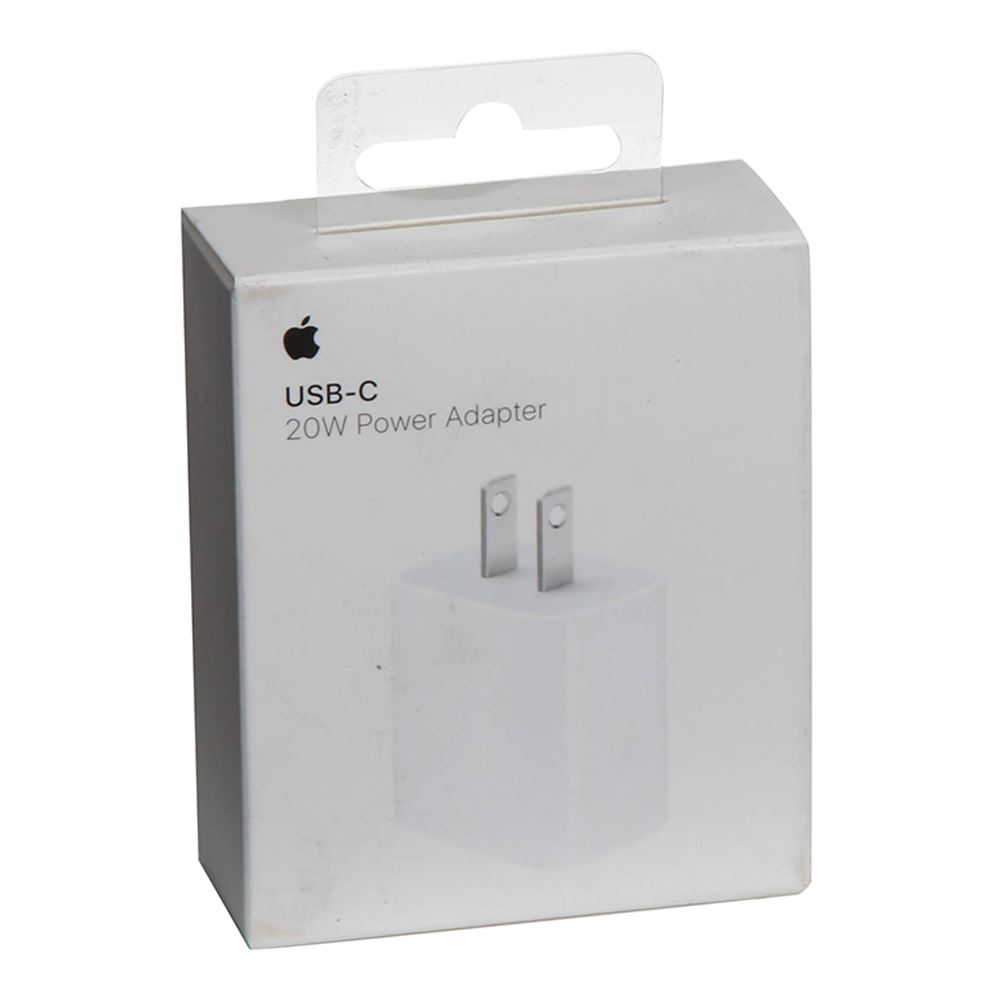 Apple adaptador  USB-C de 20 W $ 11,50 USD