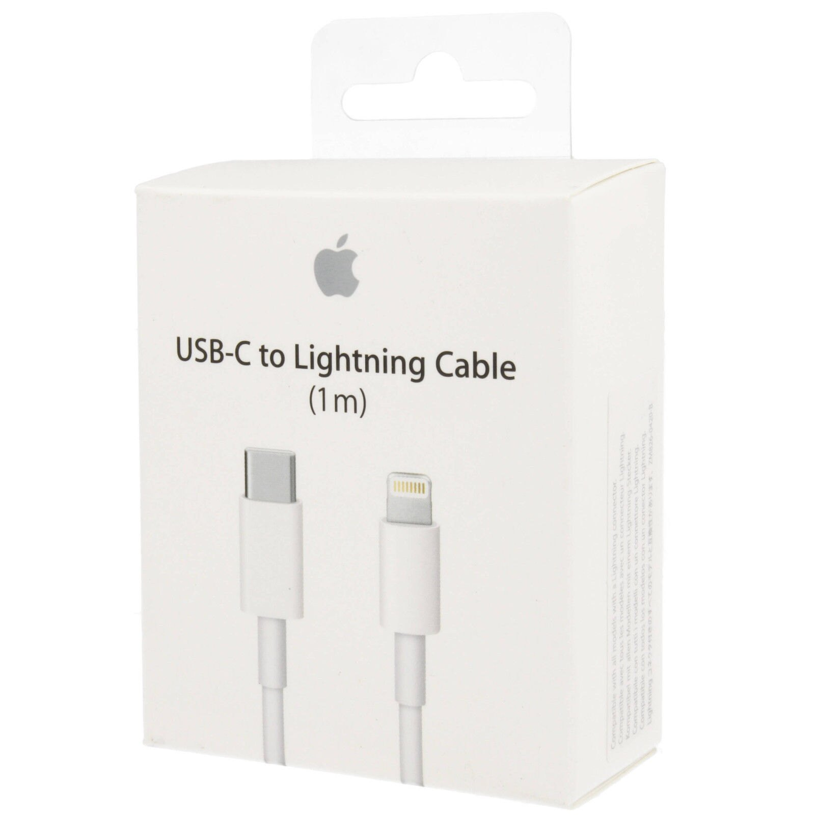 Apple  USB-C a Lightning (1 m) $ 7,69 USD