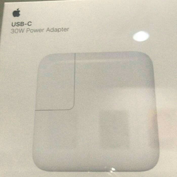 Apple adaptador 30 w usb-c $ 29,50 USD